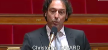 Christophe Cavard itv Aurélie Filippeti