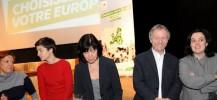 Emma Cosse et les candidats européens (2)