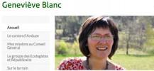 Site Genevieve Blanc